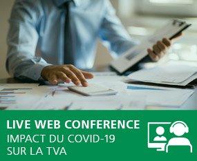 Impact des mesures COVID-19 sur la TVA