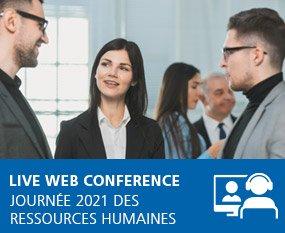 Journée 2021 des Ressources Humaines - Live Web Conference