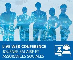 Journée Salaire et assurances sociales 2021 - Live Web Conference