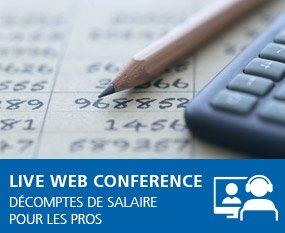 Workshop Décomptes de salaire pour les PROS – Live Web Conference